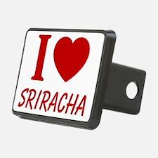 I Heart Sriracha Hitch Cover