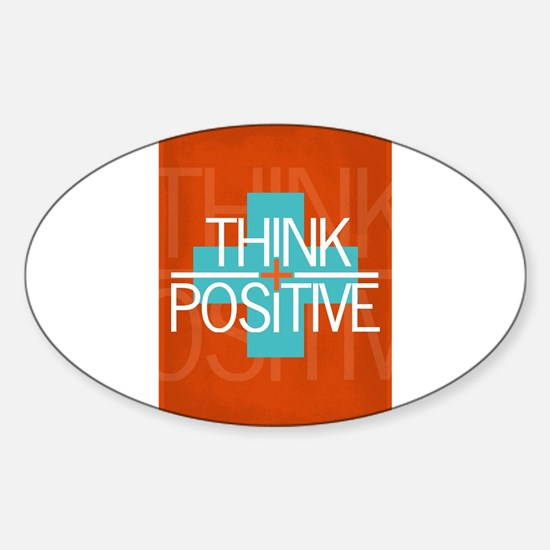Think Positive Decal