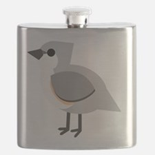 Tufted Titmouse Flask