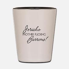 Jericho Barrons Book Boyfriend Shot Glass