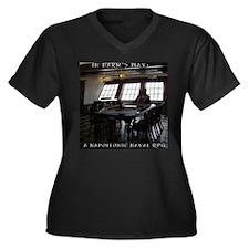Cute Harm s way Women's Plus Size V-Neck Dark T-Shirt