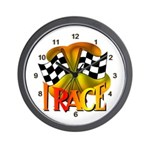 I Race Wall Clock
