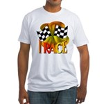 I Race Fitted T-Shirt