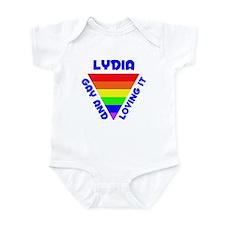 Lydia Gay Pride (#005) Onesie