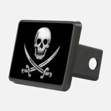 Glassy Skull and Cross Swo Hitch Cover