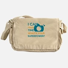 i can free time, what's your superpo Messenger Bag