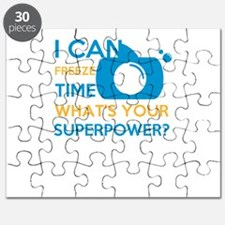 i can free time, what's your superpower Puzzle