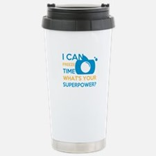 i can free time, what&# Stainless Steel Travel Mug