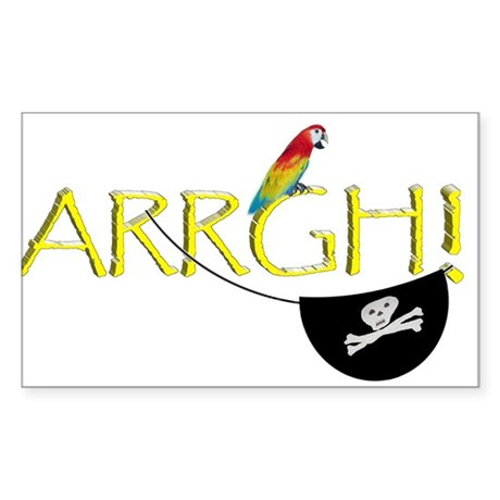 Talk Like A Pirate - ARRGH! Sticker