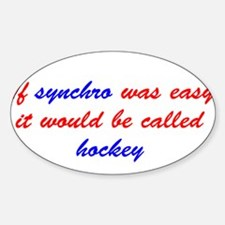 If synchro was easy Decal