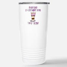 Cool Birthday saying Travel Mug