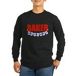 Retired Baker Long Sleeve Dark T-Shirt