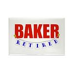 Retired Baker Rectangle Magnet (10 pack)