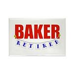 Retired Baker Rectangle Magnet (100 pack)