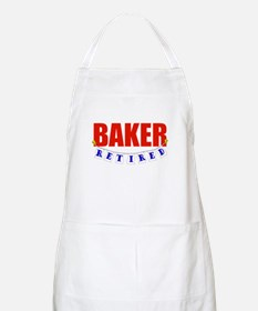 Retired Baker BBQ Apron