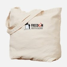 freedom of photography Tote Bag