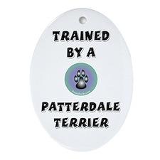 Trained by a Patterdale Keepsake (Oval)