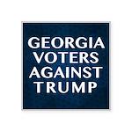 Georgia Voters Against Trump Sticker