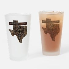 TEXAS RIG UP CAMO Drinking Glass