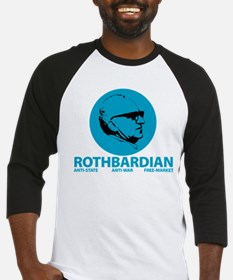 Rothbardian Blue Baseball Jersey