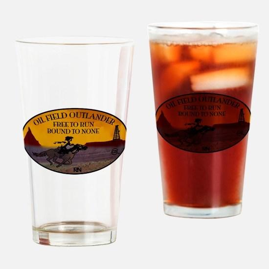 oilfield outlander Drinking Glass