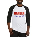 Retired Barber Baseball Jersey