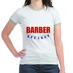 Retired Barber Jr. Ringer T-Shirt