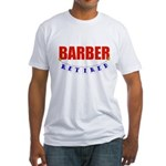 Retired Barber Fitted T-Shirt