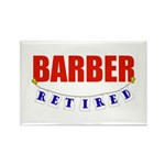 Retired Barber Rectangle Magnet (10 pack)