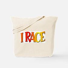 I Race Tote Bag