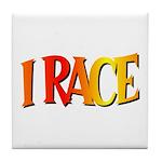 I Race Tile Coaster