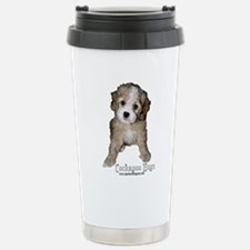 Unique Black and white tuxedo cat Travel Mug