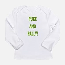Puke and Rally Long Sleeve T-Shirt
