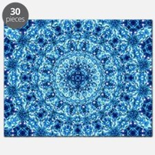 Blue fractal Puzzle