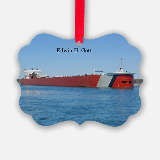 Edwin H. Gott Ornament