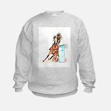 16x20_barrelracer Sweatshirt