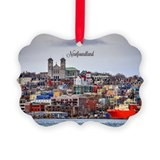 Newfoundland Picture Frame Ornaments