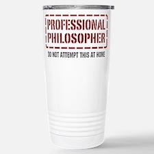 Cute Philosophy humor Travel Mug