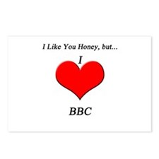 I 'heart' BBC Postcards (Package of 8)
