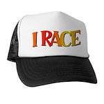 I Race Trucker Hat