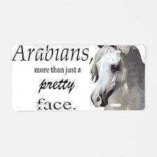 Cute Arabian horse Aluminum License Plate