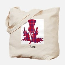 Thistle - Rose Tote Bag