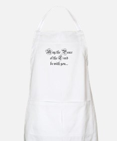 ...and also with you. BBQ Apron