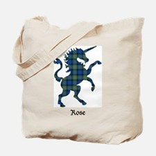 Unicorn-Rose hunting Tote Bag