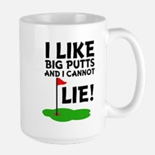 I Like Bug Putts and I Cannot Lie, funn Mugs