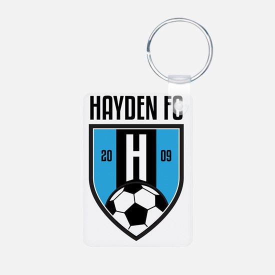 Unique Hayden Aluminum Photo Keychain
