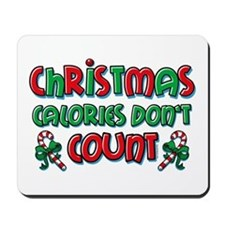 Christmas Calories Mousepad