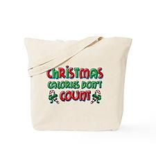 Christmas Calories Tote Bag