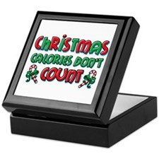 Christmas Calories Keepsake Box