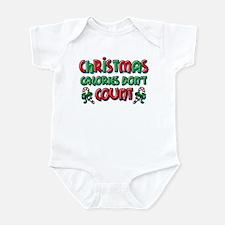 Christmas Calories Infant Bodysuit